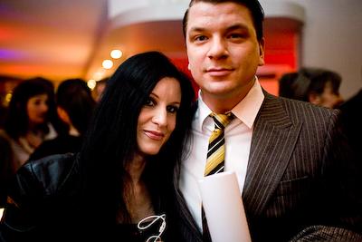 Linda Skugge och Mats Strandberg
