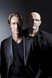 Anders Roslund och Börge Hellström. Foto: Peter Knutson